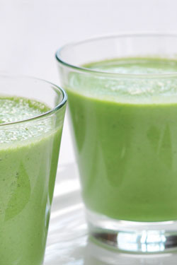 Green juicing